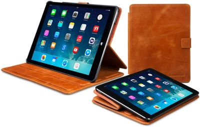 Dbramante iPad Air Leather Folio Case - Brown
