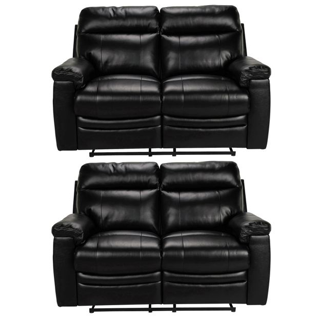 Buy Collection New Paolo Pair Of 2 Seater Recliner Sofas