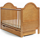 more details on Obaby B is for Bear Cot Bed and Under Drawer - Country Pine.