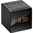 more details on Sony ICF-C1B Cube Clock Radio - Black.