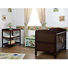 more details on Obaby Grace 2 Piece Nursery Furniture Set - Walnut.
