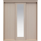more details on New Hallingford 3 Door Sliding Wardrobe - Light Oak Effect.
