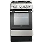 more details on Indesit I5GSH1X Single Dual Fuel Cooker-S Steel/Ins/Del/Rec.