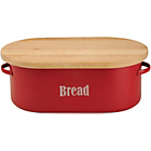 more details on Typhoon Vintage Kitchen Bread Bin - Red.