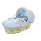 more details on Obaby B is for Bear Moses Basket - Blue.