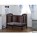 more details on Obaby Lily Cot - Walnut