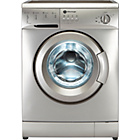 more details on White Knight WM126VS 6KG 1200 Spin Washing Machine - Silver.