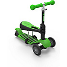more details on Yvolution Y Glider 3 in 1 Scooter - Green.