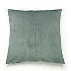 more details on Catherine Lansfield Fine Texture Cushion 55x55cm - Teal.