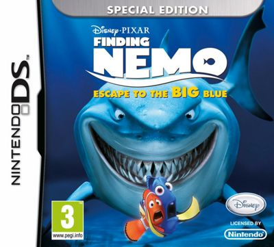 Disney Finding Nemo 2013 DS Game