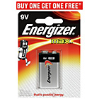 more details on Energizer Max 9V Battery.
