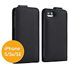 more details on Proporta iPhone 5/5s/SE Flip Case - Black.