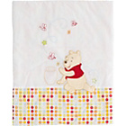 more details on Disney Winnie the Pooh Quilt & Bumper Crib Set - White.