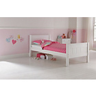 more details on Cody Single Bed Frame - White.