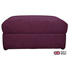 more details on Heart of House Eton Fabric Storage Footstool - Wine.
