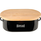 more details on Typhoon Vintage Kitchen Bread Bin - Black.