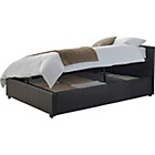 more details on Hygena Morgana Double Ottoman Bed Frame - Black.