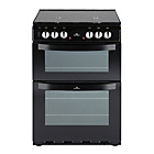 more details on New World 601DFDOL Double Dual Fuel Cooker - Black/Exp.Del.