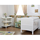 more details on Obaby Grace 2 Piece Nursery Furniture Set - White.