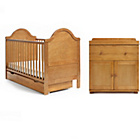 more details on Obaby B is for Bear 2 Piece Furniture Set - Country Pine.