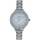 more details on Caravelle New York Ladies' Stainless Steel Bracelet Watch.