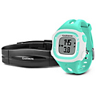 more details on Garmin Forerunner 15 GPS Running Watch with HRM - Teal/White