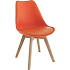 more details on Habitat Jerry Orange Dining Chair.