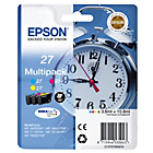 more details on Epson Alarm Clock 27 C/M/Y Ink Cartridge Multipack.