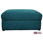 more details on Heart of House Eton Fabric Storage Footstool - Teal.