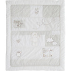 more details on Obaby B is for Bear Quilt & Bumper Set - White.