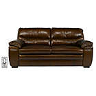 more details on Simone Premium Leather Large Sofa - Chestnut.