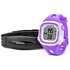 more details on Garmin Forerunner 15 GPS Running Watch with HRM-Violet/White