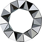 more details on Heart of House Ebury Round Wall Mirror - Silver.