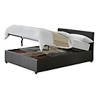 more details on Hygena Montgomery Double Ottoman Bed Frame - Chocolate