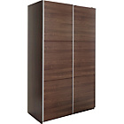 more details on Heart of House Bergen Small Sliding Wardrobe - Walnut Effect