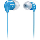 more details on Philips SHE3590PK/10 In-Ear Headphones - Blue.