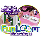 more details on Fun Loom Bands Bracelet Making Kit.