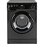 more details on Bush F721QB 7KG 1200 Spin Washing Machine-Black/Ins/Del/Rec.