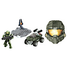 more details on Mega Bloks Halo Collectible Helmets