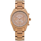 more details on Caravelle NY Ladies' Rose Chronograph Bracelet Watch.