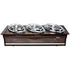 more details on Hostess H0392BR Buffet Server - Brown.
