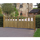 more details on Grange Fencing Fortress Double Gate - 90cm x 270cm.