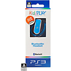 more details on KidzPLAY PS3 Bluetooth Headset - Blue.