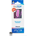 more details on KidzPLAY PS3 Bluetooth Headset - Pink.