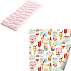 more details on Creative Tops Retro Treats 25 Straws and Napkins.