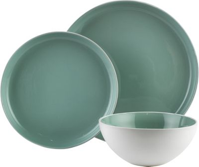 Buy Heart of House Bicester 12 Piece Dinner Set - Grey at ...
