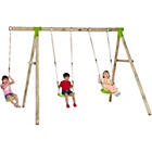 more details on Plum Loris Wooden Garden Swing Set.