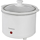 more details on Cookworks 1.5L Compact Slow Cooker - White.