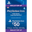 more details on Sony Playstation Network Card - £50.
