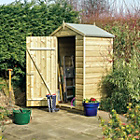 Rowlinson Wooden Oxford Shiplap Shed - 4ft x 3ft